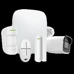 Alarme Ajax HUBKIT-W-CAM - Pack alarme IP / GPRS avec caméra