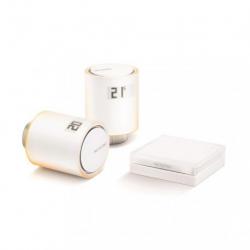 NETATMO - starter Kit kleppen aangesloten op de radiatoren