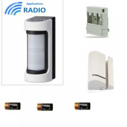 Risco VXS-RDAM - radio Detector IR / Hyperfréqunce outdoor groothoek antimasque
