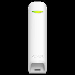 Allarme Ajax GLASSPROTECT-W - Rilevatore di rottura vetro bianco