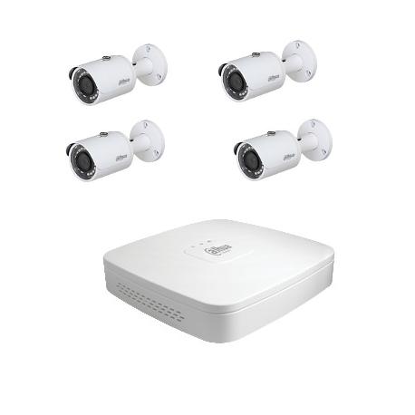 Dahua Kit video surveillance - 4 cameras HD-CVI 4 Megapixel