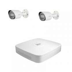 Dahua Kit vidéosurveillance 2 caméras HD-CVI 2 Mégapixels