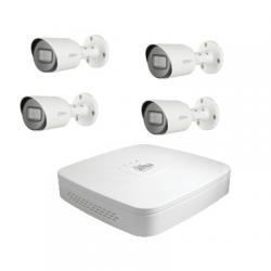 Dahua Kit vidéosurveillance - Enregisteur 4 caméras HD-CVI 2 Mégapixels