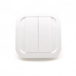 Nodon CWS-3-1-01- Interrupteur mural Cozi White Z-Wave Plus
