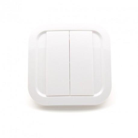 EnOcean Interruptor de pared Cozi Blanco NODON