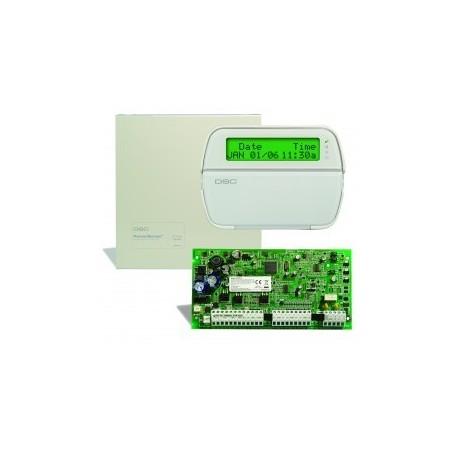 Kit PC1616 DSC-zentrale alarm + tastatur PK5500