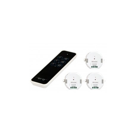 CHACON 54797-Fernbedienungen 3 kanäle + 3 module ON/OFF