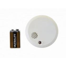 Détecteur de fumée optique + batterie lithium CHACON