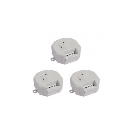 kit de 3 módulos CHACÓN 54751 receptor inalámbrico para motorización