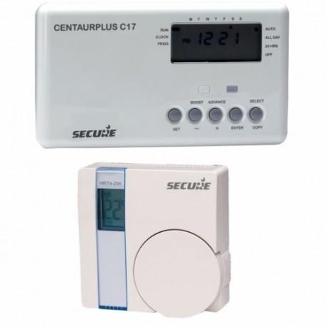 SECURE SCP318 - Programmateur de chauffage avec thermostat sans fil Z-Wave