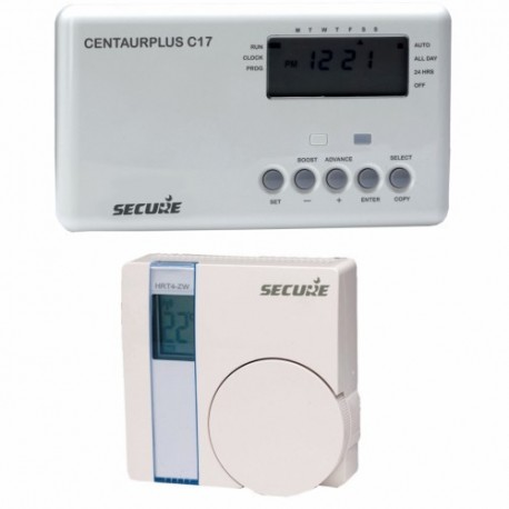 SEGURO Controlador de calefacción con termostato inalámbrico Z-Wave