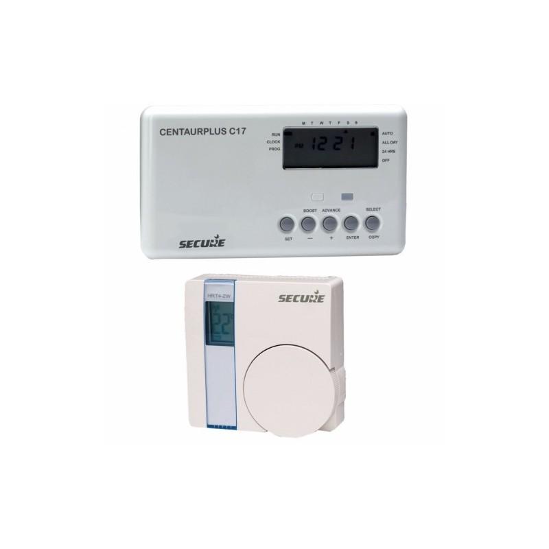 secure programmateur de chauffage avec thermostat sans fil z wave. Black Bedroom Furniture Sets. Home Design Ideas