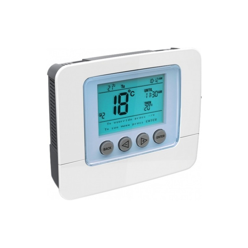 thermostat elektronisch programmierbar z wave secure scs317. Black Bedroom Furniture Sets. Home Design Ideas