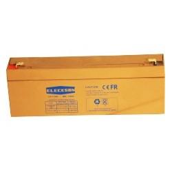 Eleckson - Battery 12V 2.2 AH L 178 X W 34 X HT 60
