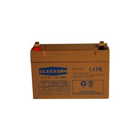 Eleckson - Akku 4V 3.5 Ah-FACH V0
