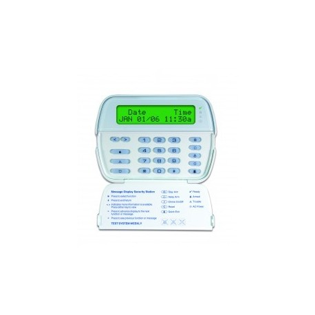 DSC - Clavier LCD 2X16 caractères avec récepteur radio
