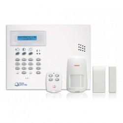 INFINITO KIT CENTRALE + TRANSM GSM + 1 RILEVARE + 1 CONTATTO + 1 TELECO
