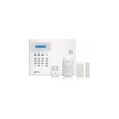 INFINITE KIT CENTRALE + TRANSM GSM + 1 DETECT + 1 CONTACT + 1 TELECO