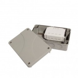 CHACÓN Módulo de interruptor para 3 cargas + carcasa impermeable