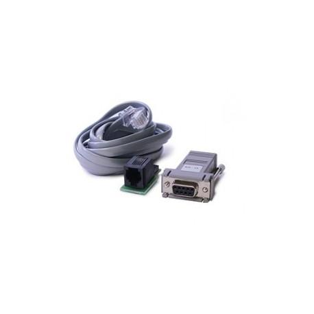 DSC cable de programación de la central