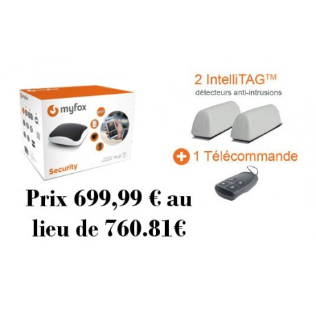 MYFOX Pack HC2 Sicherheit IntelliTag