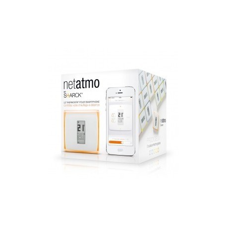 thermostat connect netatmo. Black Bedroom Furniture Sets. Home Design Ideas