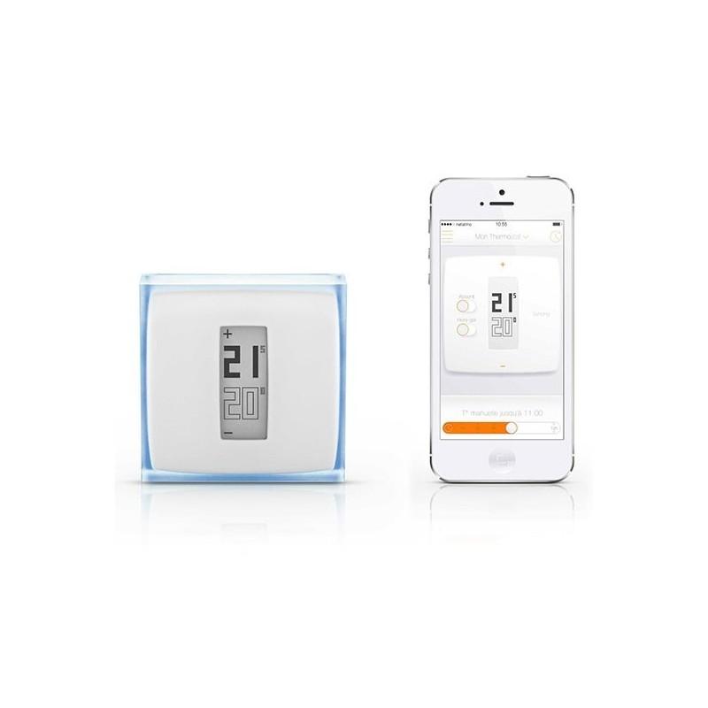 netatmo nth01 de ec thermostat mit wifi verbunden. Black Bedroom Furniture Sets. Home Design Ideas