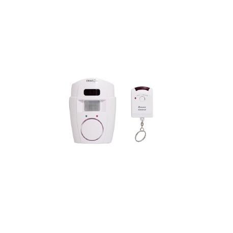 Alarma independiente detector de movimiento + control remoto CHACÓN