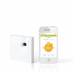 QIVIVO thermostat connected to electric heating