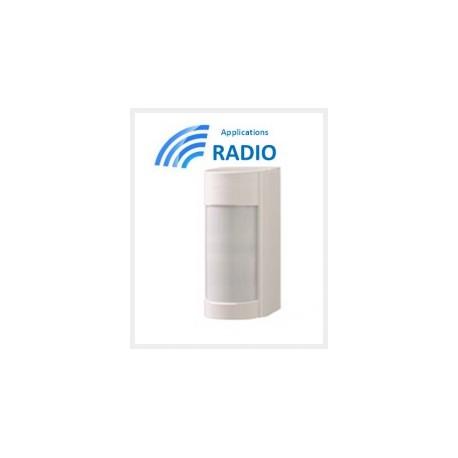 Optex VXI-RDAM - Détecteur extérieur OPTEX double IRP 12M 90° faible conso IP55 ANTI-MASQUE