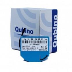 ZMNHAD1 Qubino Micro-interruptor del módulo de Qubino 1 relé y conso-medidor de Z-Wave Más