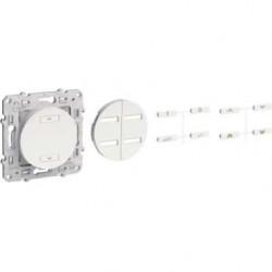 Radio receiver shutters rolling white ODACE-SCHNEIDER