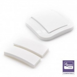 EnOcean wall Switch - Cozi White NODON