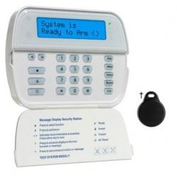 Keyboard radio LCD screen badge reader DSC WT5500P